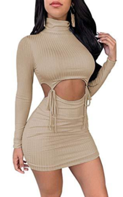 XLLAIS Ribbed Tops and Skirts Sets 2 Piece Sets