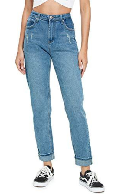 Jmitha High Waisted Boyfriend Jeans