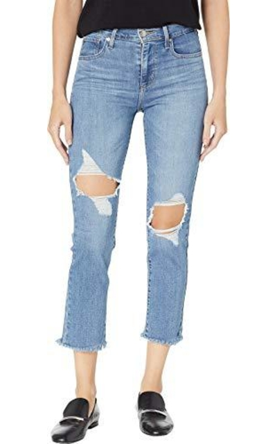 Levi's 724 High Rise Straight Crop Jeans