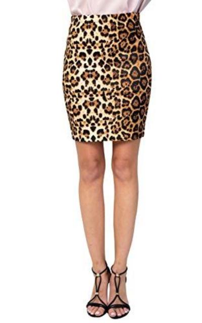 HerShe Comfort Stretch Pencil Mini Skirt
