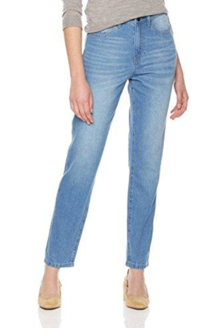 Lily Parker  Classic Relaxed -Fit Boyfriend Jeans