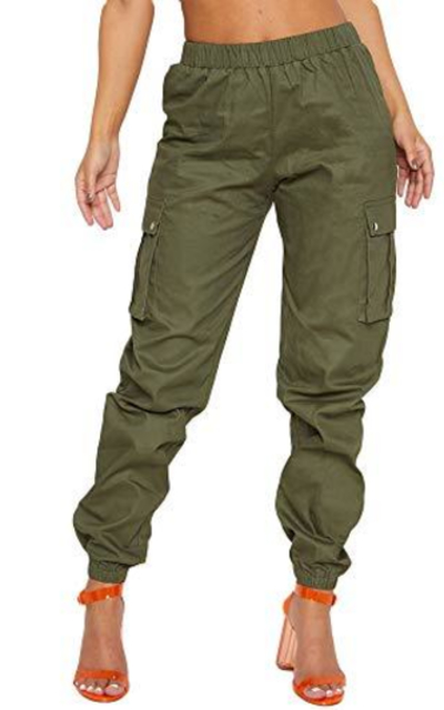 Lunyu Cargo Pant Joggers with Pockets