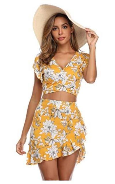 MISS MOLY 2 Piece Skirt Set