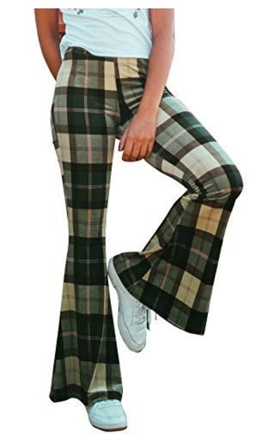 doublebabyjoy Plaid Pants