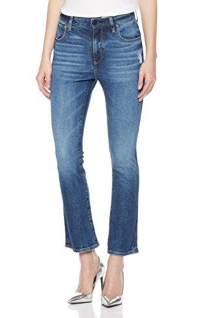 HALE Carrie High Rise Mini Boot Leg Jean