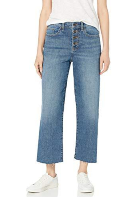 Amazon Brand - Daily Ritual Wide-Leg Crop Jean