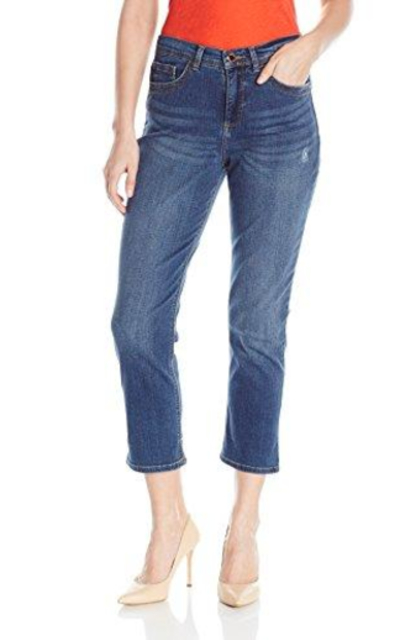 Lee Easy Fit Cameron Cuffed Capri Jean