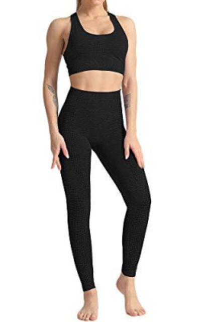 WodoWei 2 Piece Workout Outfit