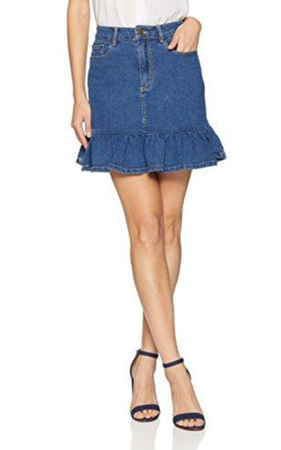 The Fifth Label Frequency Ruffle Mini Skirt