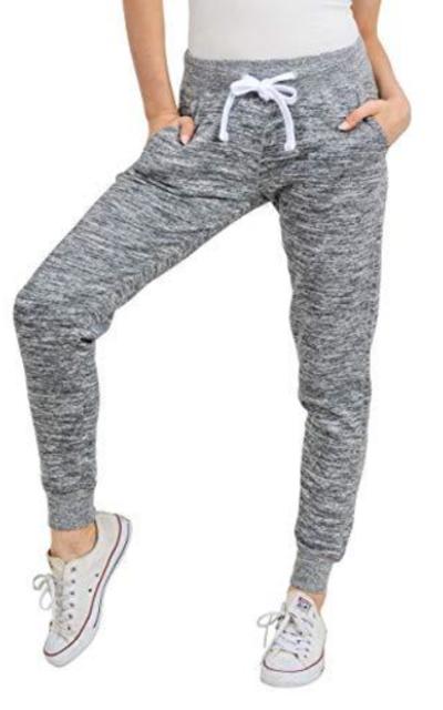 esstive Basic Ultra Soft Fleece Solid Jogger Pants