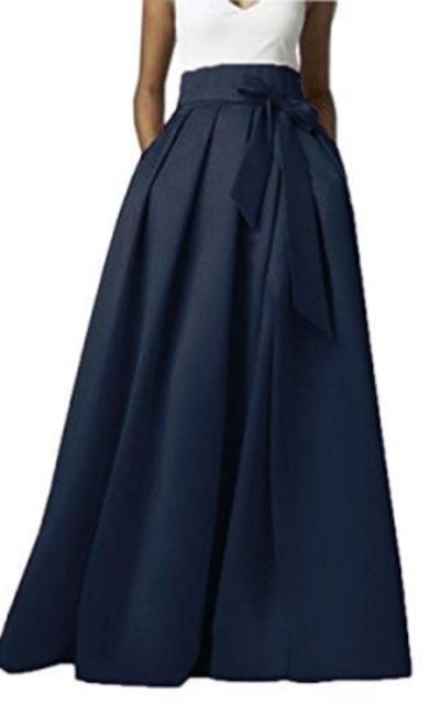 Omelas Maxi A-line Skirt