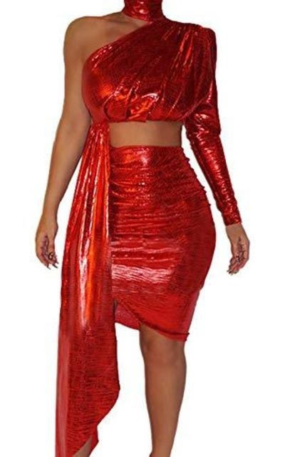 Two Piece Mini Club Dress