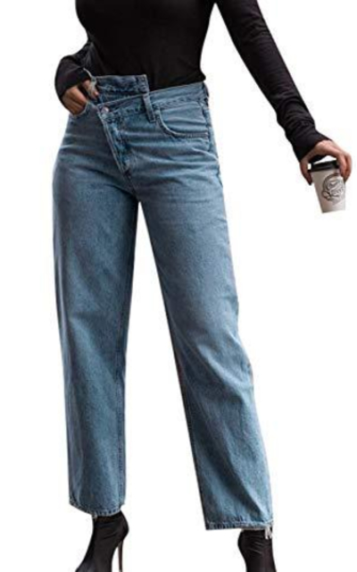 Miessial Assymetrical Jeans