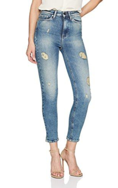 Calvin Klein Jeans High Rise Ankle Skinny Jean