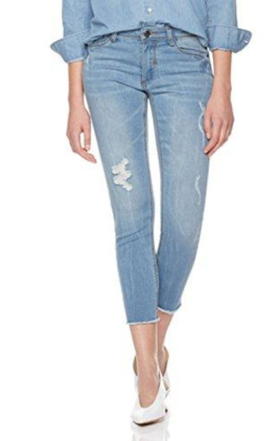 Lily Parker Mid Rise Jeans