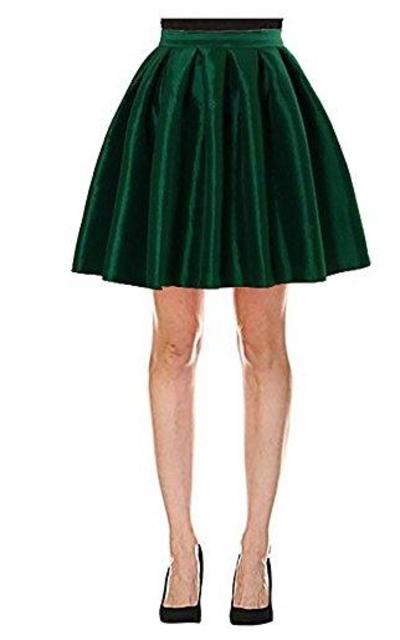 Omelas Short Flare Skater Full Skirt