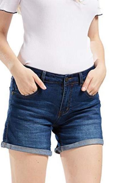 chouyatou Denim Shorts