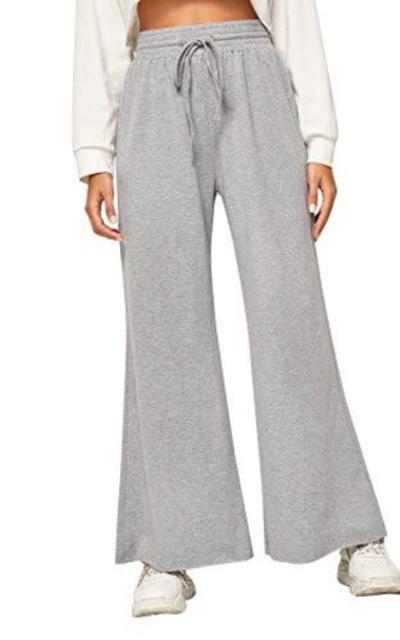 SweatyRocks Drawstring Wide Leg Pants