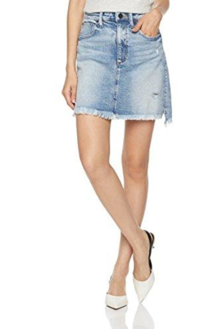 HALE Blair A Line Jean Skirt