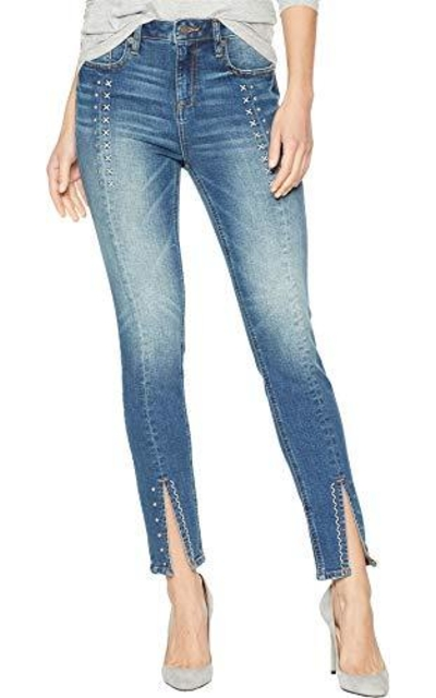 Miss Me High-Rise Ankle Skinny Jeans