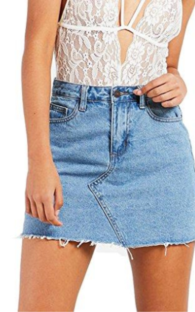 just quella Denim Skirt