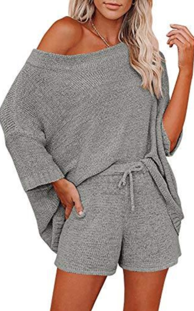 Mafulus 2 Piece Outfits Sweater Set