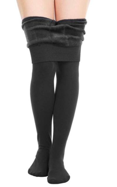 CHRLEISURE Warm Fleece Lined Leggings
