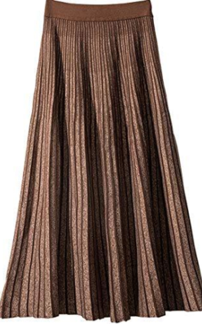 CHARTOU Pleated Midi Skirt