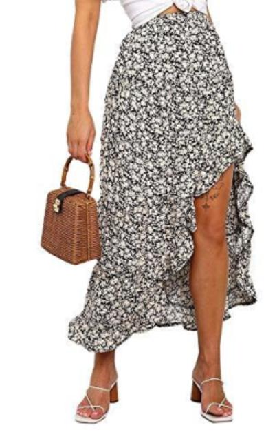 Exlura Midi Swing Skirt