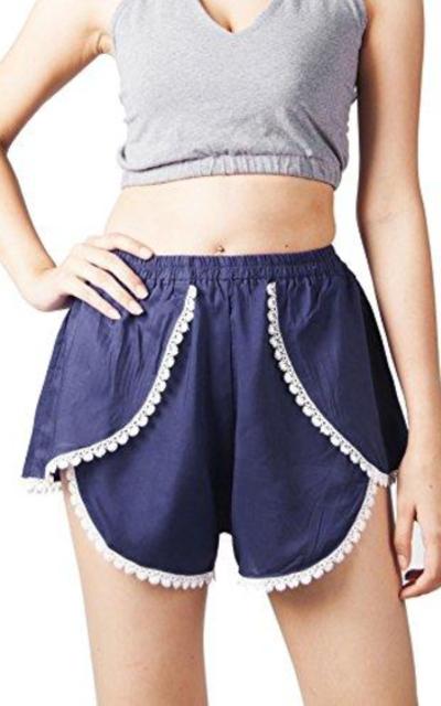 LOFBAZ Lace Shorts