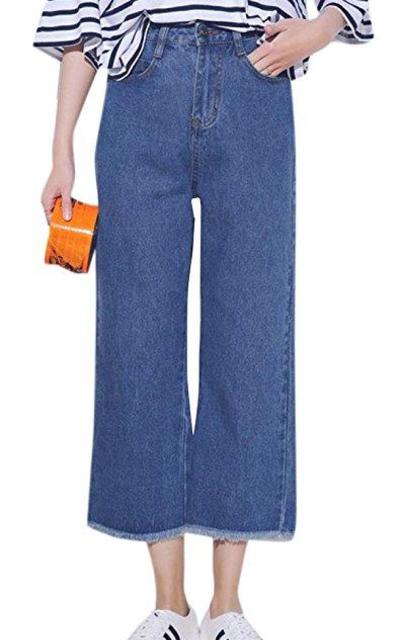 Tengfu  Wide Leg Jeans