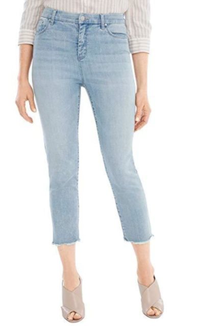Chico's So Slimming Girlfriend Crop Jeans