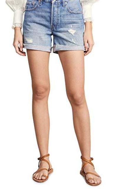 Levi's 501 Long Shorts