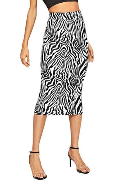 WDIRARA Midi Skirt