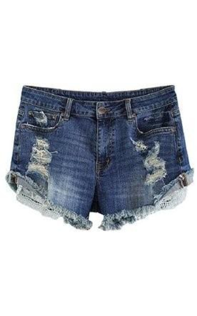 MSSHE Denim Shorts