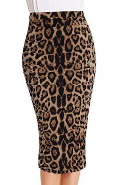VfEmage High Waist Pencil Skirt