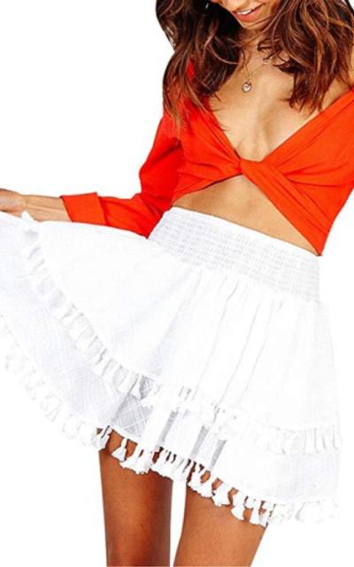Simplee Mini Skirt