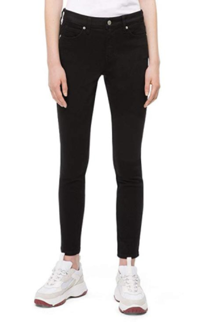 Calvin Klein Mid Rise Super Skinny Fit Jeans