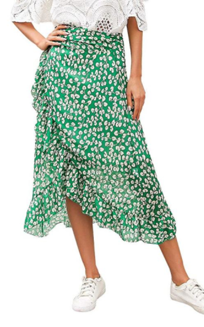 Simplee Chiffon Skirt