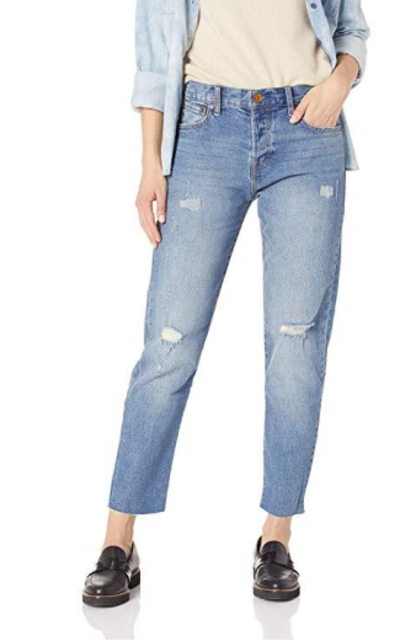 Vintage America Blues Cheeky Straight Leg Denim Jeans