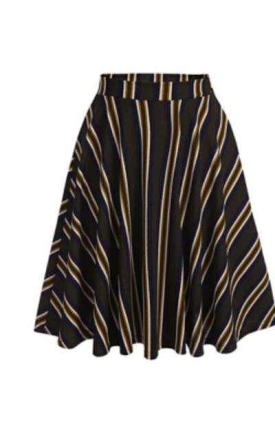 Hotouch Versatile Stretchy Flared Skater Skirt
