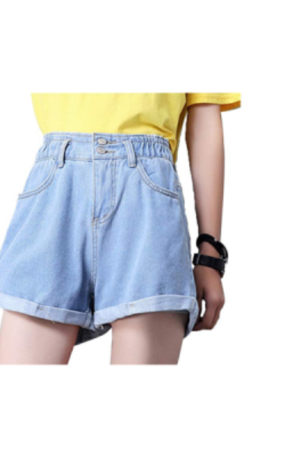 Weigou Denim Shorts