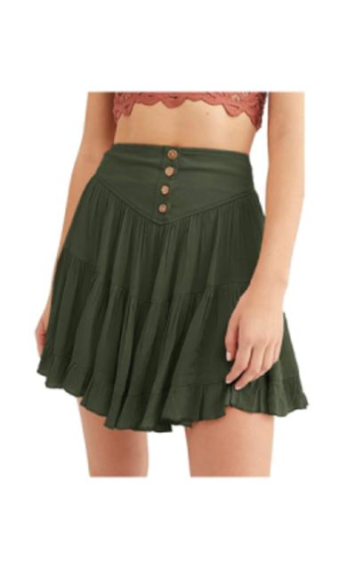 ReachMe Ruffle Short Skirt
