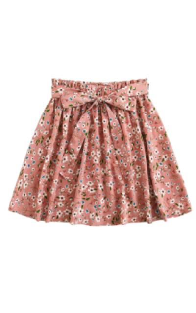 SheIn Summer Floral Print Skirt