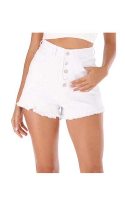 Haola High Waisted Denim Shorts