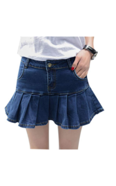 Yeokou Pleated Ruffle Skort