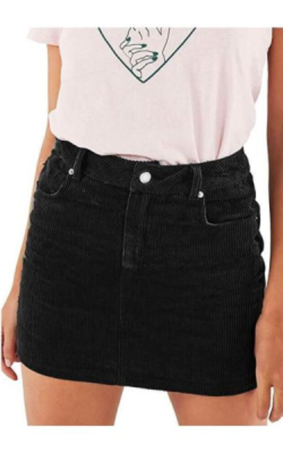 just quella Corduroy A-line  Skirt