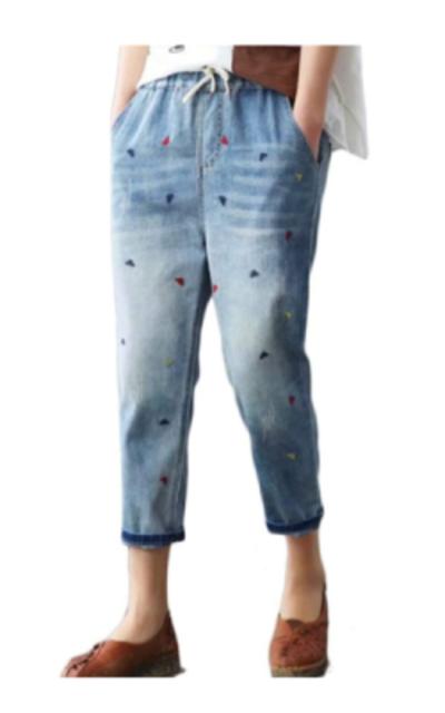 Lavnis Cropped Jeans