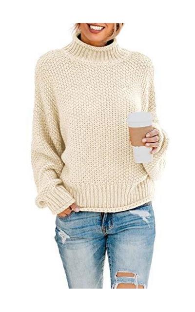 BLENCOT Turtleneck Sweaters