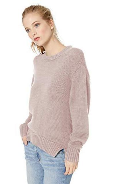 Amazon Brand - Daily Ritual 100% Cotton Chunky Crew Sweater
